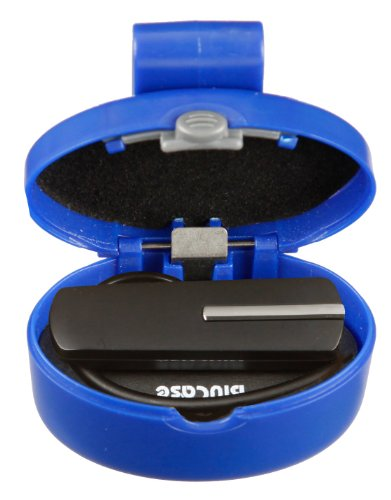 Navy Blue, Universal Bluetooth Headset Carrying/Protection Case (Standard Blucase). Compatible With Most Jabra, Motorola, Phantronics, Jawbone, Samsung, Bose, Lg, Nokia And Other Brands Of Bluetooth Headsets.