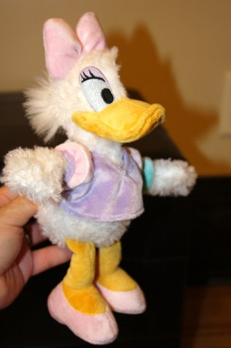Disneys Daisy Duck Soft Stuffed Character Toy - 1