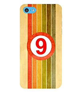 HiFi Designer Phone Back Case Cover Apple iPhone 6 Plus :: Apple iPhone 6+ ( Number 9 Lucky For All )