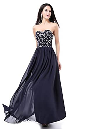 Balllily women 39 s long prom wedding guest formal evening for Amazon wedding guest dress