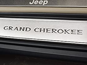 Jeep Grand Cherokee Stainless steel Door Entry Guards