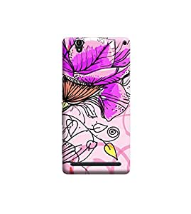 Ebby Premium Printed Back Case Cover With Full protection For Sony Xperia T2 (Designer Case)