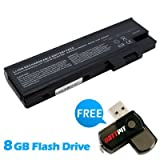 Battpit⢠Laptop / Notebook Battery Replacement for Acer Aspire 3634WLMi (4400mAh / 65Wh ) with FREE 8GB Battpit⢠USB Flash Drive