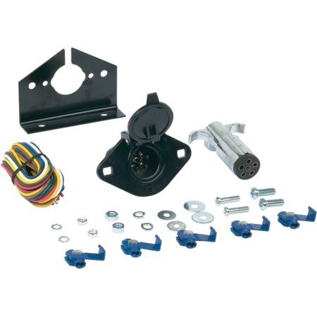 Hopkins 6-Pole Round Connector Kit (Rc 1 10 Trailer Kit compare prices)