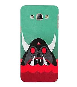 Cartoon Monster 3D Hard Polycarbonate Designer Back Case Cover for Samsung Galaxy A8 (2015 Old Model) :: Samsung Galaxy A8 Duos :: Samsung Galaxy A8 A800F A800Y