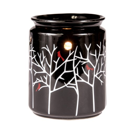 Tree Haven Full Size Electric Ceramic Tart Candle Warmer