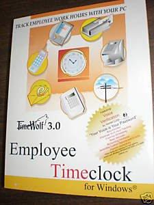 Timewolf 3.0 Employee Timewolf for Windows