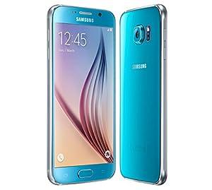 Samsung Galaxy S6 G920F 32GB Factory Unlocked GSM 4G LTE Octa-Core Smartphone - Blue Topaz