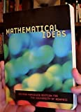 img - for Mathematical Ideas [Second Abridged Edition For The University of Memphis] book / textbook / text book