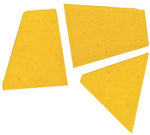 Mosaic Mercantile Crafter's Cut Ceramic Mosaic Tile, 1-Pound, Yellow (Ceramic Tile Kitchen compare prices)