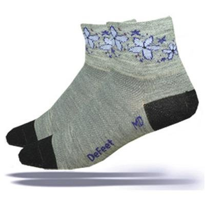 Buy Low Price DeFeet Women's Wooleator Sky Norway Cycling/Running Socks – WASNOR (WAPUP-M)