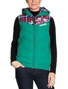 Maloja Salei Ladies' 2-Layer Down Hooded Vest moss Size:M