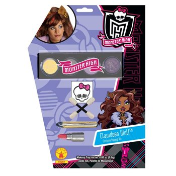 Monster High - Clawdeen Wolf Makeup Kit Child Accessory