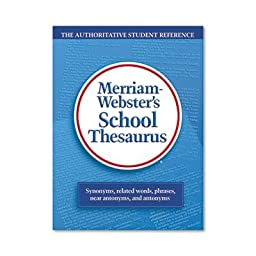 Merriam Webster - 2 Pack - School Thesaurus Grades 9-11 Hardcover 704 Pages \
