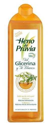 HENO DE PRAVIA - GEL DE DUCHA glicerina y té blanco 650 ML.-unisex