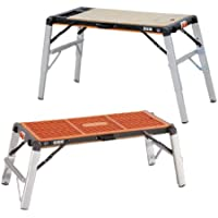Astro Pneumatic 2-in-1 Workbench Table/Scaffold