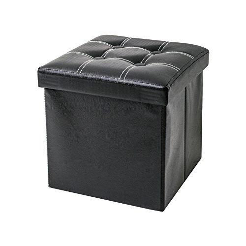 rebecca-srl-pouf-puff-pouff-puf-contenitore-baule-poggiapiedi-quadrato-nero-moderno-soggiorno-camera