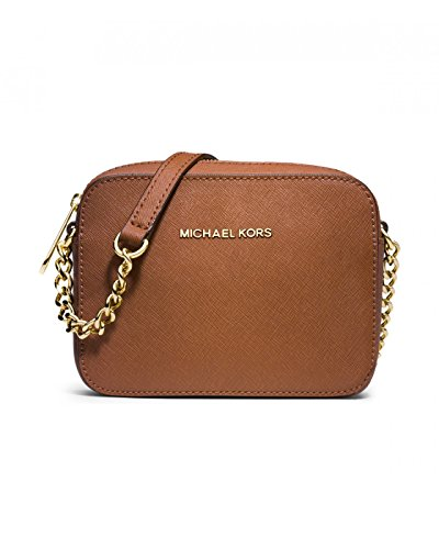 Michael Michael Kors Jet Set Small Travel Crossbody In Luggage