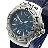 Kahuna Gents Blue 100M Water Resistant Calendar Watch