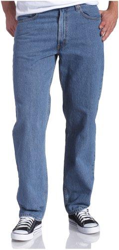 Levi's Men's 550 Relaxed Fit Jean - Big & Tall, Medium Stonewash, 46x30
