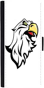 Snoogg Angry Eagle Mascot Designer Protective Phone Flip Case Cover For Lenovo Vibe X3