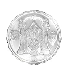 Ananth Jewels BIS Hallmarked 999 Purity Silver Coin Balaji 10 grams