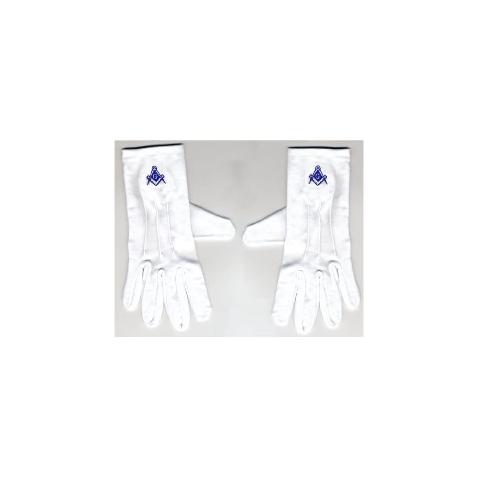 Light Blue Gloves, Masonic Logo Mason, Freemason Freemasons Free Mason Masons Masonic Masonry Freemasonry Past Masters Emblem Shriner,york Scottish Rite, ,Grotto,movper, Craft Lodge Entered Apprentice Fellowcraft Master Rose Croix Lodge Perfection, Comman