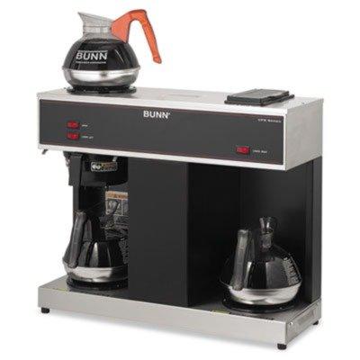 BUNVPS - Bunn Coffee Pour-O-Matic Three-Burner Pour-Over Coffee Brewer (Bunn Pour Over Coffee Maker compare prices)