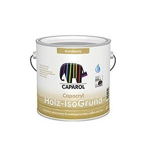 caparol capacryl holz isogrund 750ml wei k che haushalt. Black Bedroom Furniture Sets. Home Design Ideas