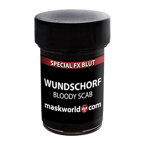 Blut-Wundschorf Make-up