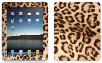 Leopard Print Pattern Skin for Apple iPad 16GB, 32GB, 64GB Wi-Fi and WiFi + 3G