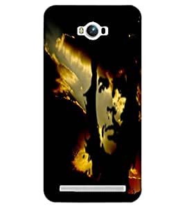 ASUS ZENFONE MAX FAMOUS PERSONALITY Back Cover by PRINTSWAG