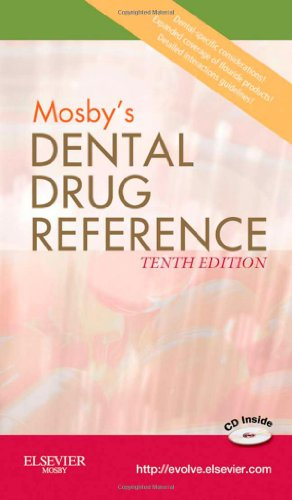 Mosby's Dental Drug Reference, 10e