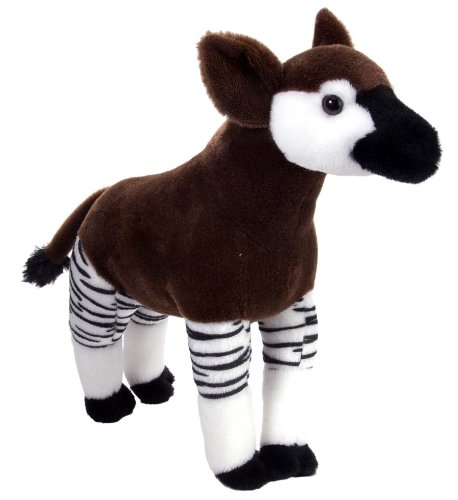 "Wild Republic Cuddlekin Okapi 12"" Plush"