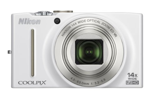 Nikon COOLPIX S8200 Compact Digital Camera -