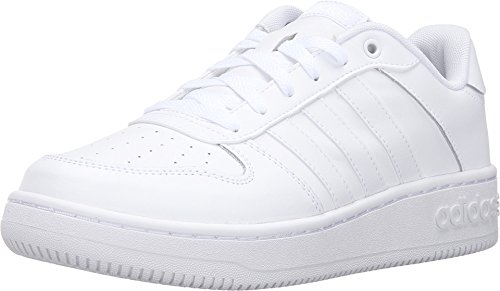 Adidas NEO Women's Team Court W Fashion Sneaker, White/White/White, 11 M US