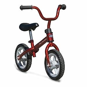 Chicco First Bike - Bicicleta sin pedales con sillin regulable para edades de 3 a 5 años (max 25 kg)