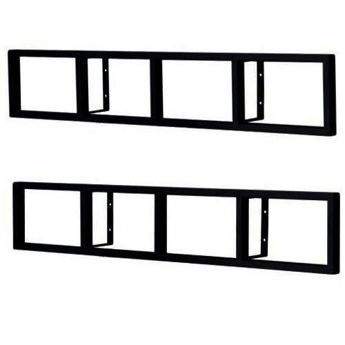 Ikea lerberg  Ikea Lerberg CD/DVD Wall Shelf Dark Grey - Import It All