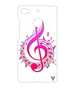 Vogueshell Musical Patterns Printed Symmetry PRO Series Hard Back Case for LeEco Le 1s