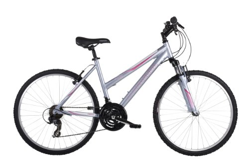 Barracuda Women's Mystique Mountain Bike - Silver ( Wheel 26 Inch, Frame 18 Inch)