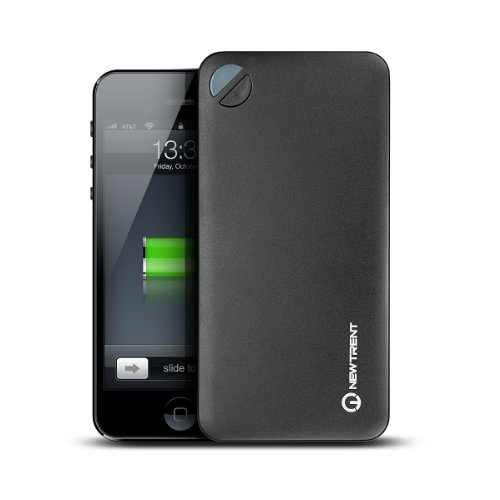 New Trent Powerpak 10.0 10000mAh Pocket Friendly Portable Dual USB Port External Battery Charger/Power Pack for Smartphones and Tablets and more