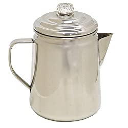 Coleman 12-Cup Stainless Steel Coffee Percolator made by Coleman