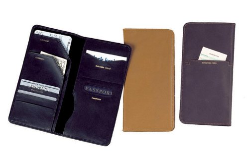 Winn-Napa-Leather-Passport-Travel-Organizer-Black-Brown-Cognac