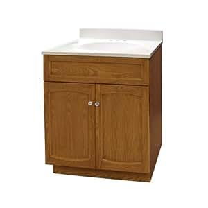 foremost heartland oak vanity 24 x 18 x 30 bathroom. Black Bedroom Furniture Sets. Home Design Ideas