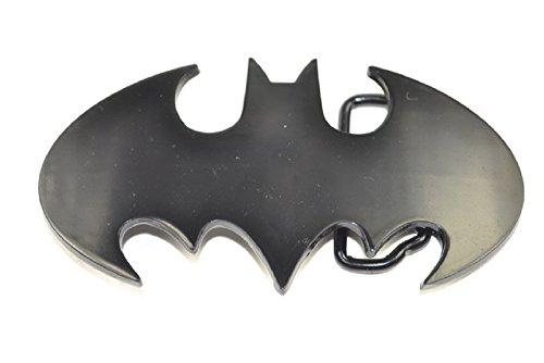 Official cut out BLACK Batman Belt Buckle LICENSED with TAGS