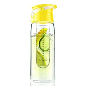 Buy Asobu Pure Flavour 2 Go Water Bottle, Yellow by AdNArt