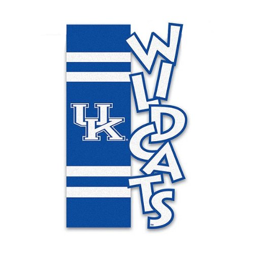 "NCAA University of Kentucky Wildcats Sports Outdoor Garden Flag 18"" x 12.5"" at Amazon.com"