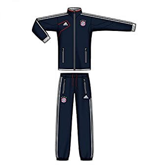 TUTA ALLENAMENTO BLU 12/13 Bayern Monaco Adidas 48 - M BLU