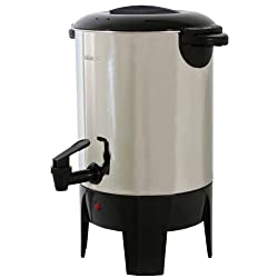 Amerihome CFU30 Coffee Urn, 30-Cup made by Buffalo Tools Lawn & Garden
