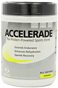 Pacific Health  Accelerade, Lemonade, Net Wt. 2.06 lb., 30 serving